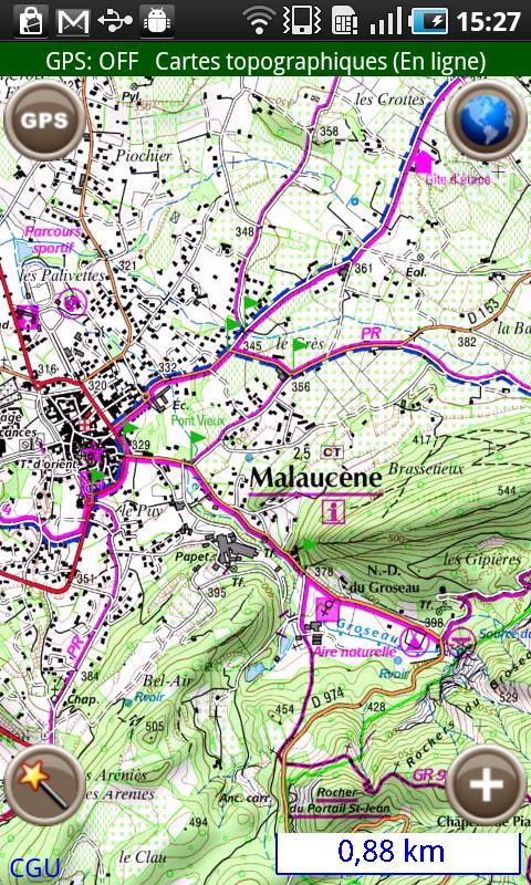 [SOFT] GEOLIVES FRANCE : Le Geoportail au creux de la main [Payant] Carte10