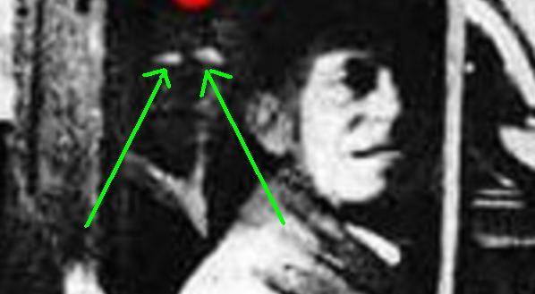 Fantôme derrière le chauffeur Derrie11