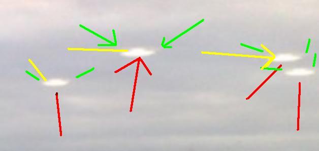Quatre Ovnis au-dessus de Londres? Ovni10