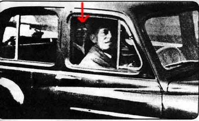 Fantôme derrière le chauffeur Photo410