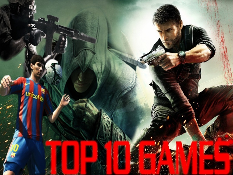 TOP TEN GAMES