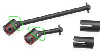 [New] Central Drive Shaft 1/16 par Integy Intc9510