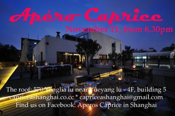 Outing in Shanghai ... Apéro Caprice .... Aparo_10