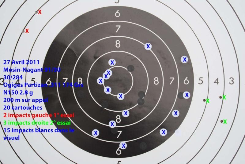 Résultats de tirs au MOSIN-NAGANT ??? - Page 3 Cible_10