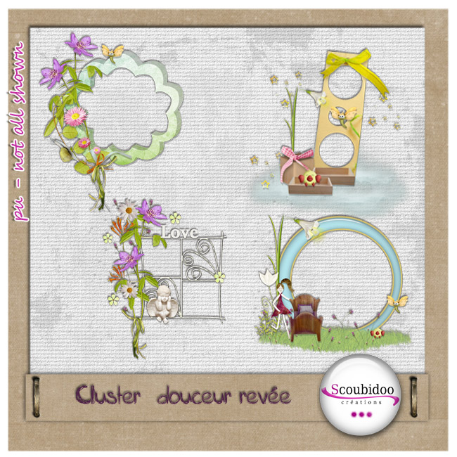 "kit ""douceur rêvée"" Scoubi21"