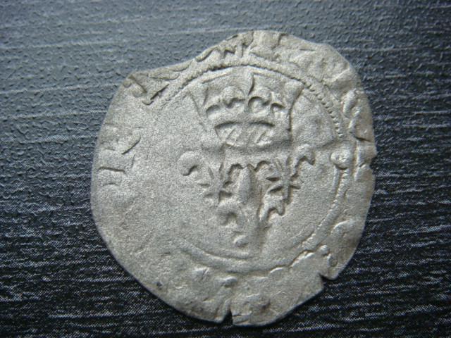 """FLORETTE"" ou ""Gros de 20 deniers"" de Charles VI (1380-1422) Groses16"