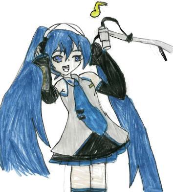 Chelsea's Anime Drawings! Hatsun10