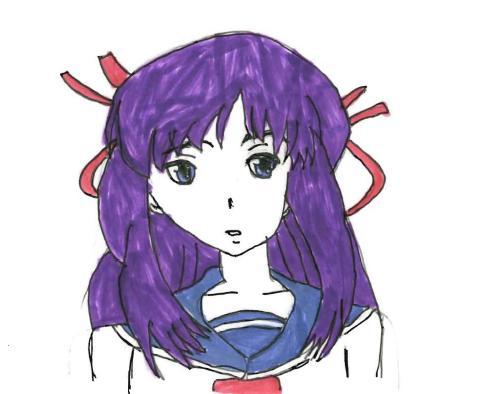 Chelsea's Anime Drawings! Makina10