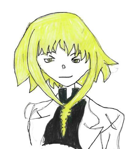 Chelsea's Anime Drawings! Medusa10