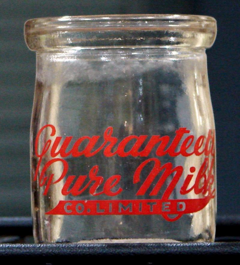 Contenants de crème sûre Guaranteed Pure Milk Lait210