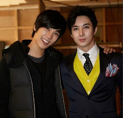 [news] Jung Min visits Kim Hyung Joon on his MV film set 18065710