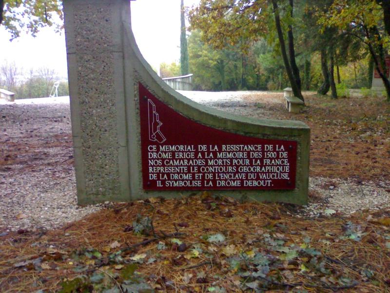 Mémorial Résistance, Déportation, Us à Mirmande (26) 31102013