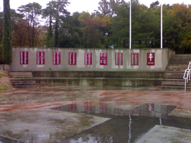 Mémorial Résistance, Déportation, Us à Mirmande (26) 31102016