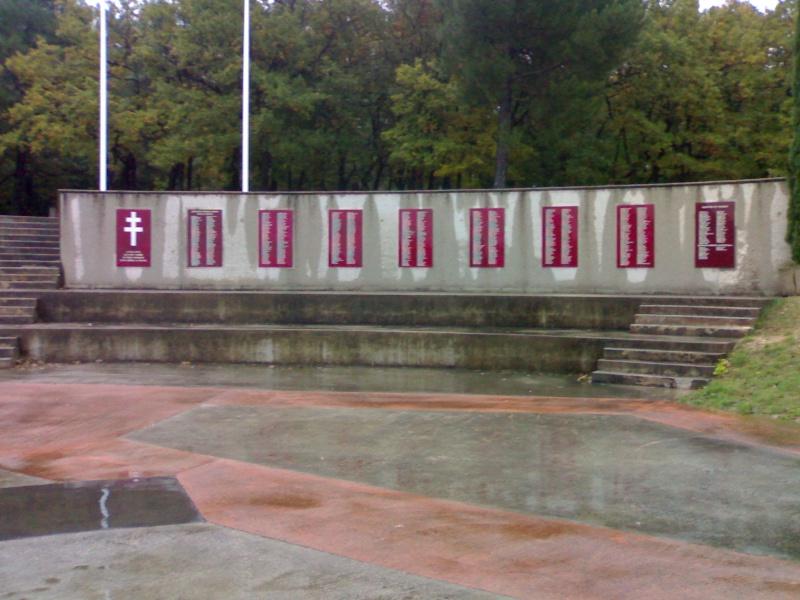 Mémorial Résistance, Déportation, Us à Mirmande (26) 31102017