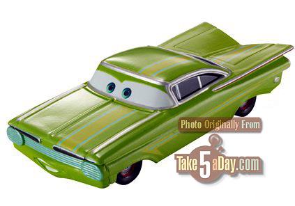 [Cars 2] British Ramone Lime-r10