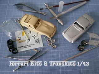 Ferrari kits et transkits 1/43
