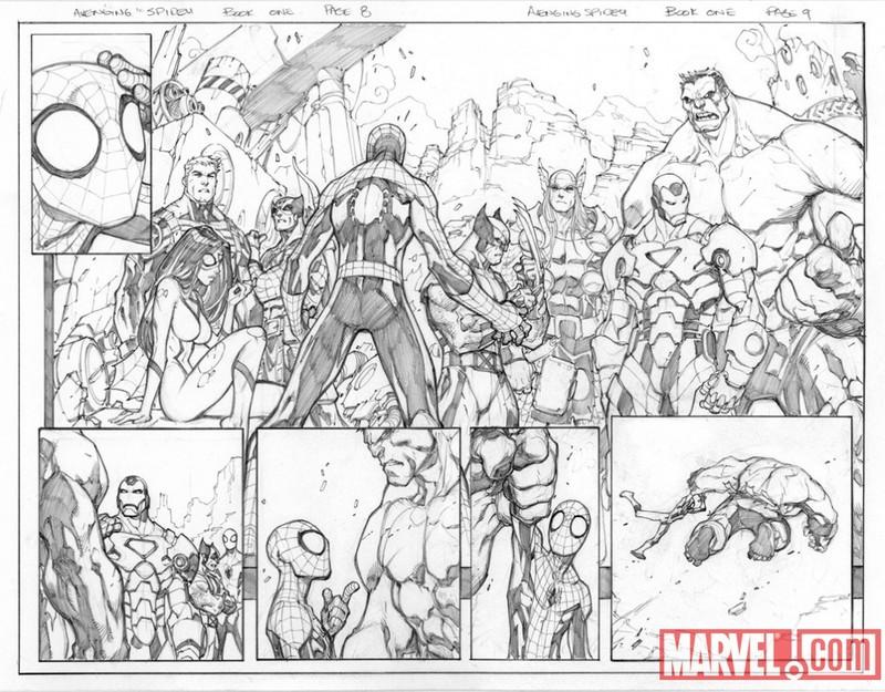 Avenging Spider-Man #1-3 [Nouvelle Série] Phpijr10