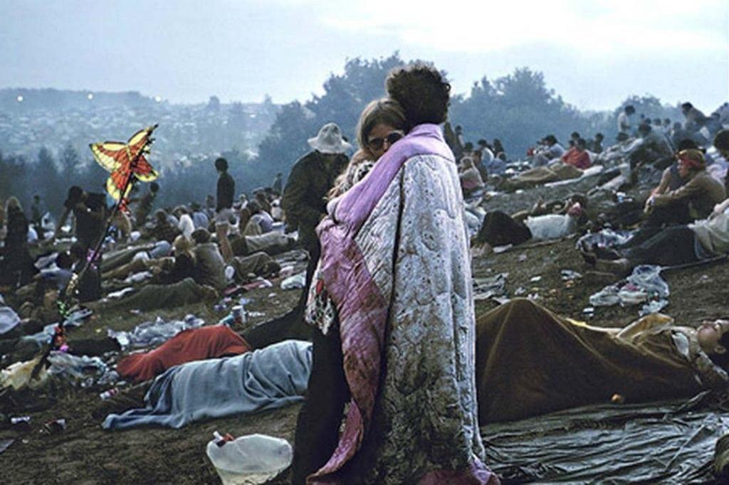 Souvenir: Les années 60 mouvement hippie Pinter10