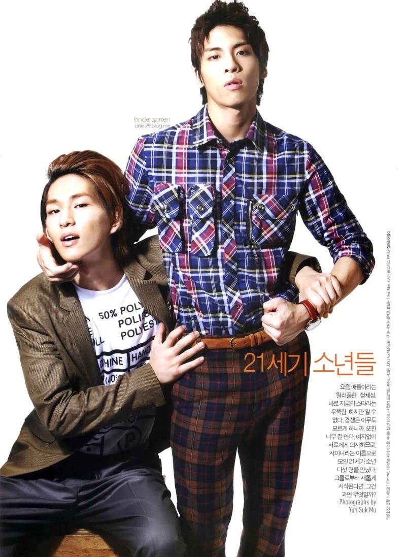 SHINee posa para la revista GQ ( para Octubre) Shinee23