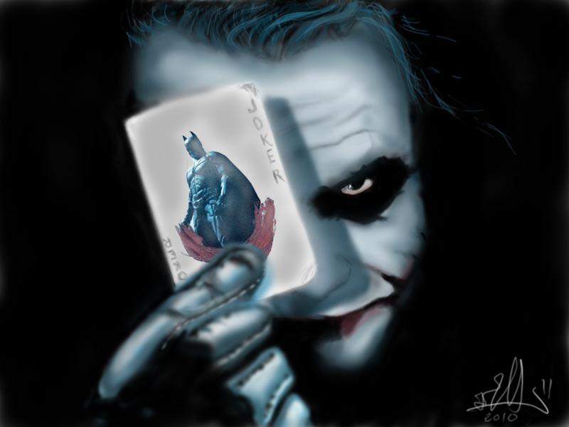 joker digital paint Joker10