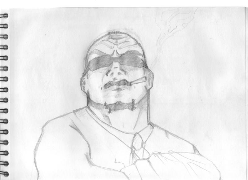 bocetillo rapido de un mafioso Mafia_10