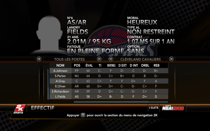 Cleveland Cavaliers [the king] Nba2k114