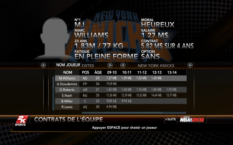 New York Knicks [The King] Nyk110