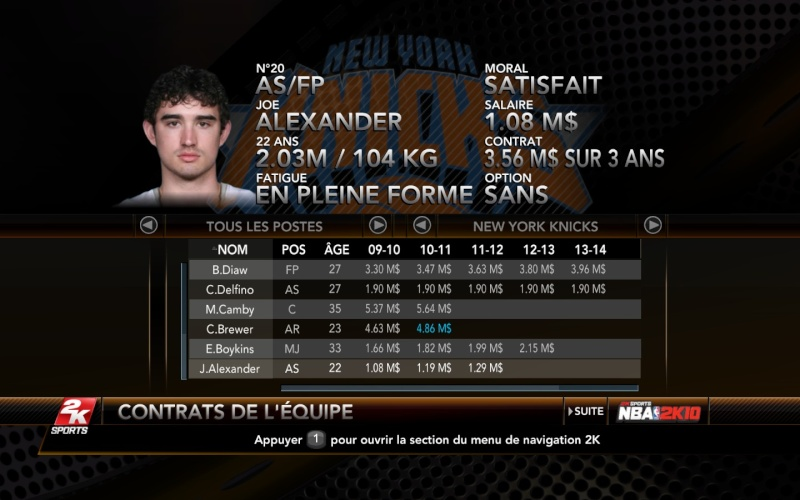 New York Knicks [The King] Nyk310