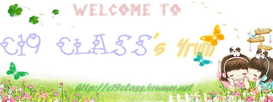 ღ~~-'๑'- ♥C19 Class™-'๑'-♥~~ ღ