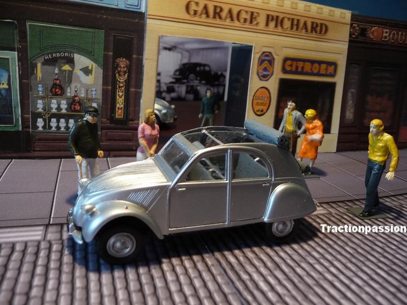 Maquette Heller au 1/43 éme-  2CV type A 1947 P1030013