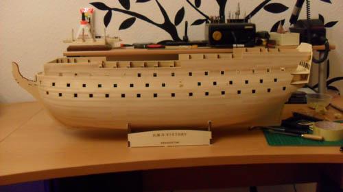 Wilfried's Baubericht zur Victory aus Holz und anderem Kram 00312
