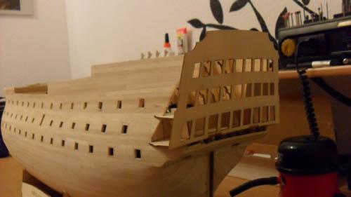 Wilfried's Baubericht zur Victory aus Holz und anderem Kram 00911