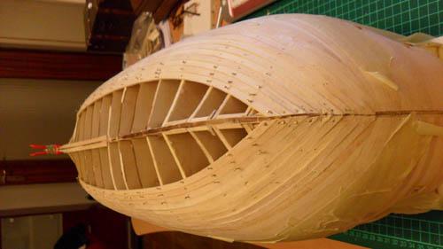 Wilfried's Baubericht zur Victory aus Holz und anderem Kram 01510