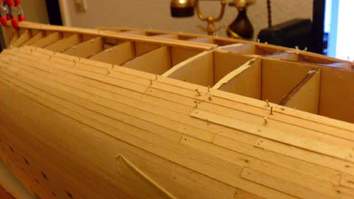 Wilfried's Baubericht zur Victory aus Holz und anderem Kram 01810