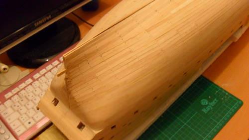Wilfried's Baubericht zur Victory aus Holz und anderem Kram 02110