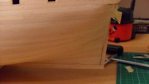 Wilfried's Baubericht zur Victory aus Holz und anderem Kram 04410