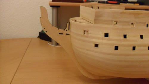 Wilfried's Baubericht zur Victory aus Holz und anderem Kram 04910