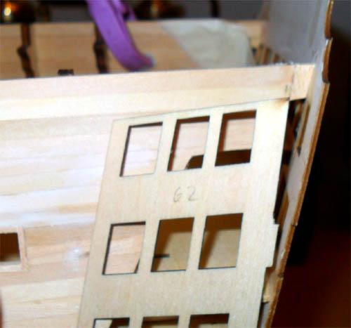 Wilfried's Baubericht zur Victory aus Holz und anderem Kram 05210