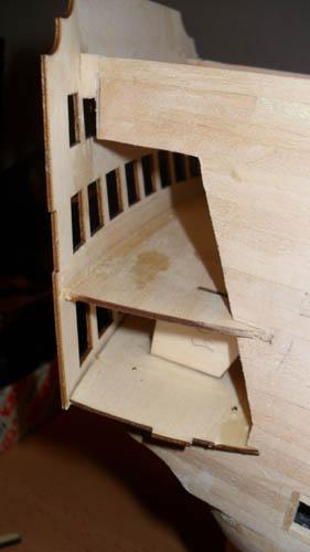 Wilfried's Baubericht zur Victory aus Holz und anderem Kram 05810