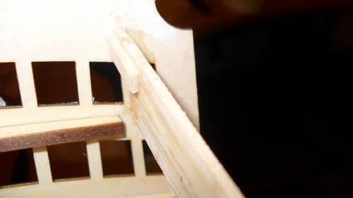 Wilfried's Baubericht zur Victory aus Holz und anderem Kram 06210