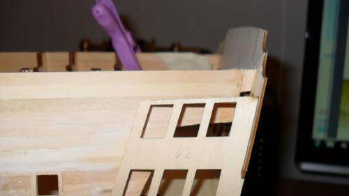 Wilfried's Baubericht zur Victory aus Holz und anderem Kram 06410