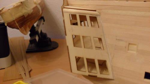 Wilfried's Baubericht zur Victory aus Holz und anderem Kram 06510