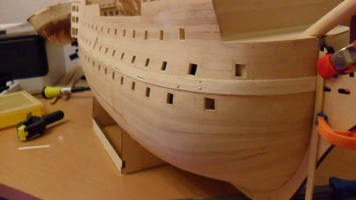 Wilfried's Baubericht zur Victory aus Holz und anderem Kram 06610