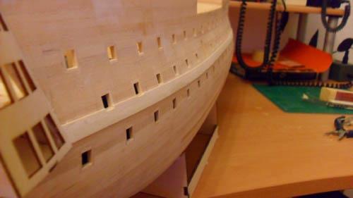 Wilfried's Baubericht zur Victory aus Holz und anderem Kram 06710