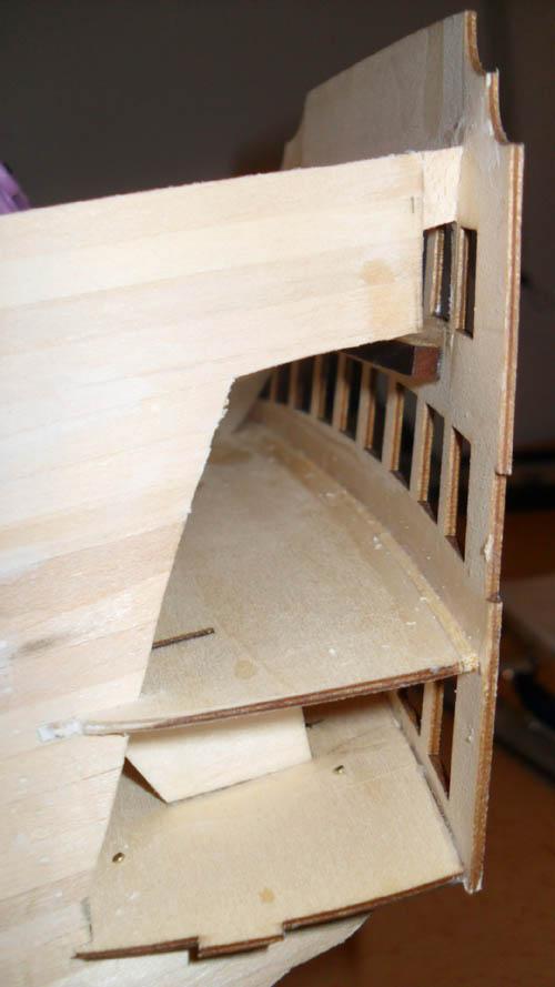 Wilfried's Baubericht zur Victory aus Holz und anderem Kram 6110