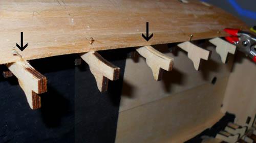 Wilfried's Baubericht zur Victory aus Holz und anderem Kram Bepl2610