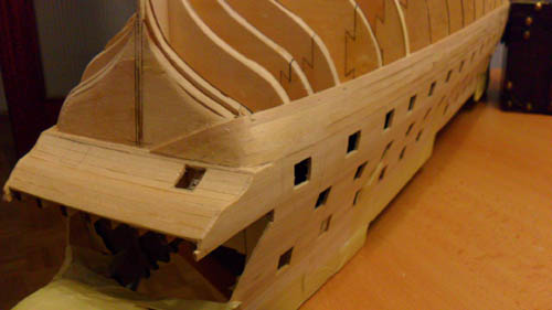 Wilfried's Baubericht zur Victory aus Holz und anderem Kram Bepl3710