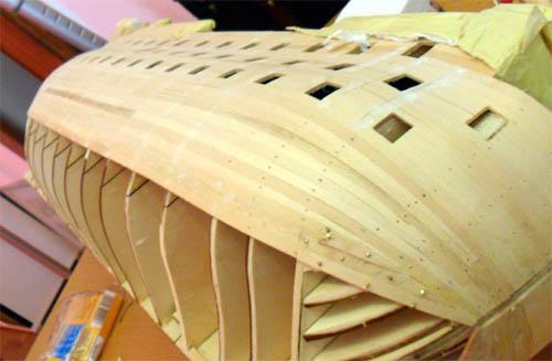Wilfried's Baubericht zur Victory aus Holz und anderem Kram Bepl3911