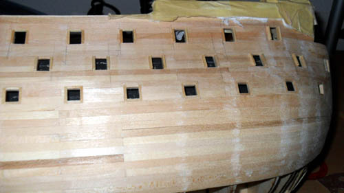 Wilfried's Baubericht zur Victory aus Holz und anderem Kram Bepl4410