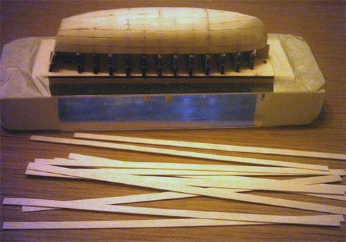 Wilfried's Baubericht zur Victory aus Holz und anderem Kram Lboot110
